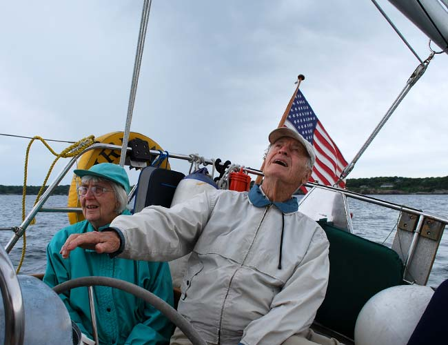 Sail boat instruction in Newport